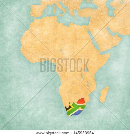 Map Of Africa - South Africa