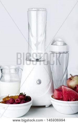 Blender Isolated On White Background