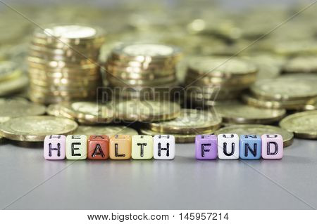 Health Fund And Gold Coins