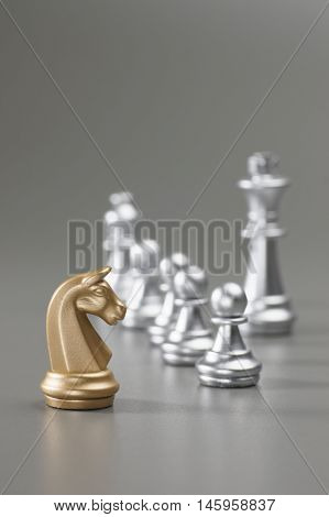 Golden Knight Chess