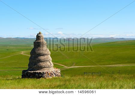Grassland in Hulun Buir League of Inner-Mongolia China poster