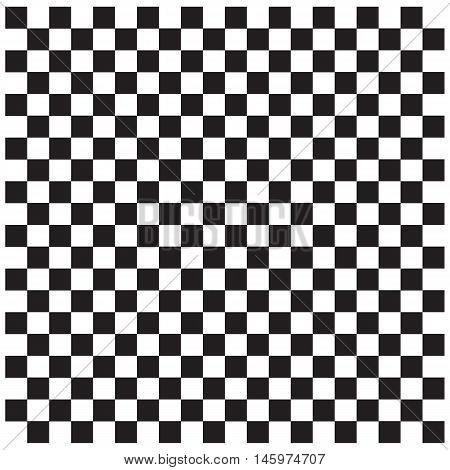 Black and white checkered abstract checkerboard background