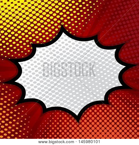 pop art comic book comic background speech bubble comic vector illustration