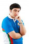 FIDE Grand Master Vugar Gashimov (World Rank - 12) from Azerbaijan poster