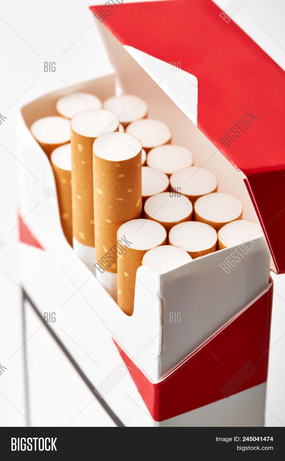 Cigarettes Pack Close Image & Photo (Free Trial) | Bigstock