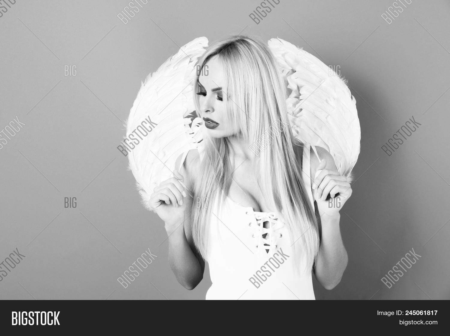 Young Angel Angel Image Photo Free Trial Bigstock