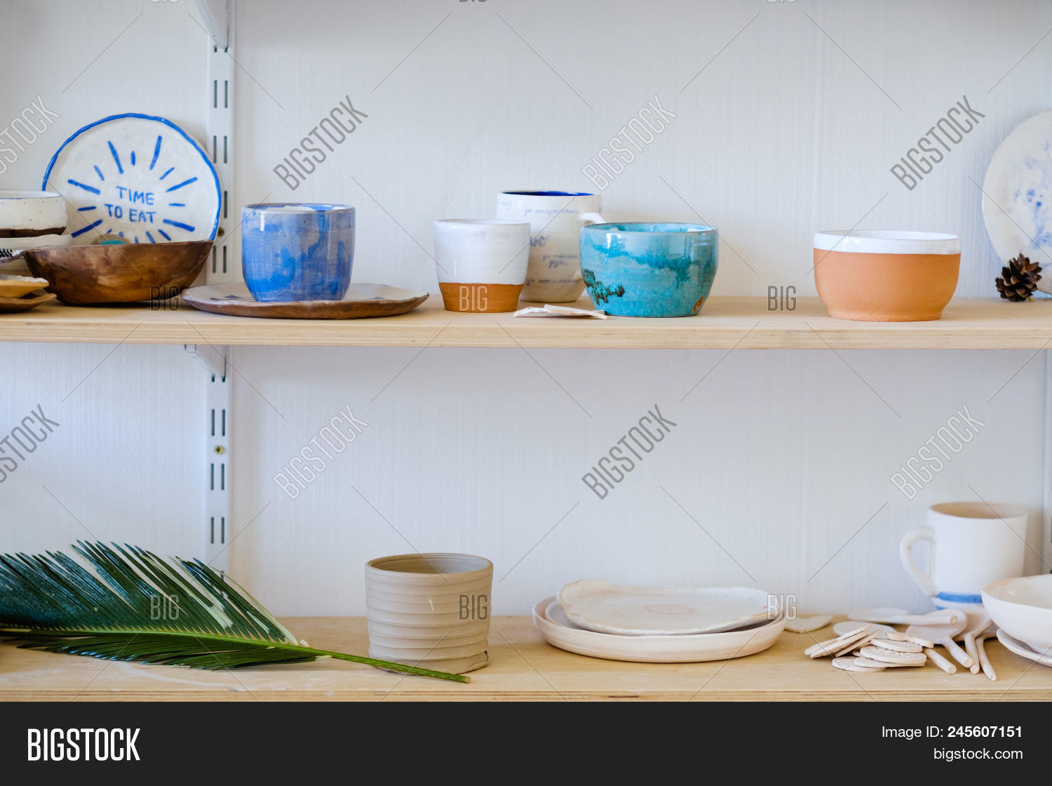 Handmade Crockery Image Photo Free Trial Bigstock