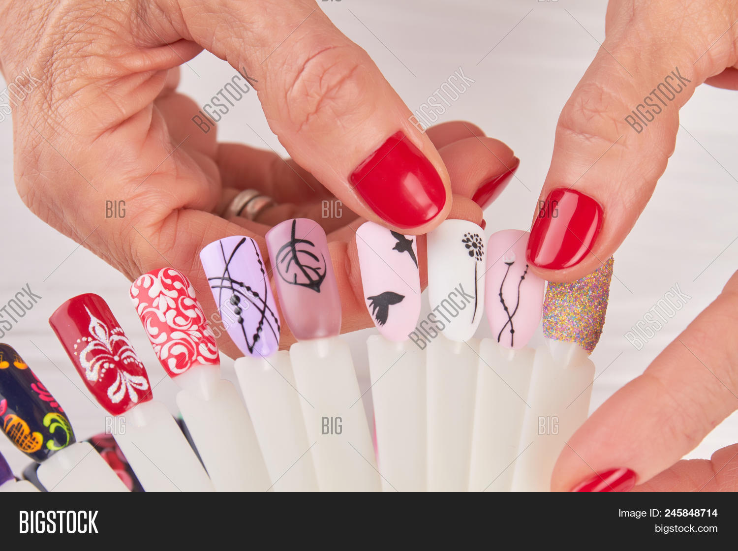 Manicured Hands Image Photo Free Trial Bigstock