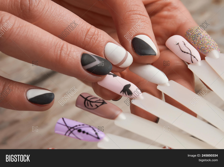 Nail Art Samples Image & Photo (Free Trial) | Bigstock