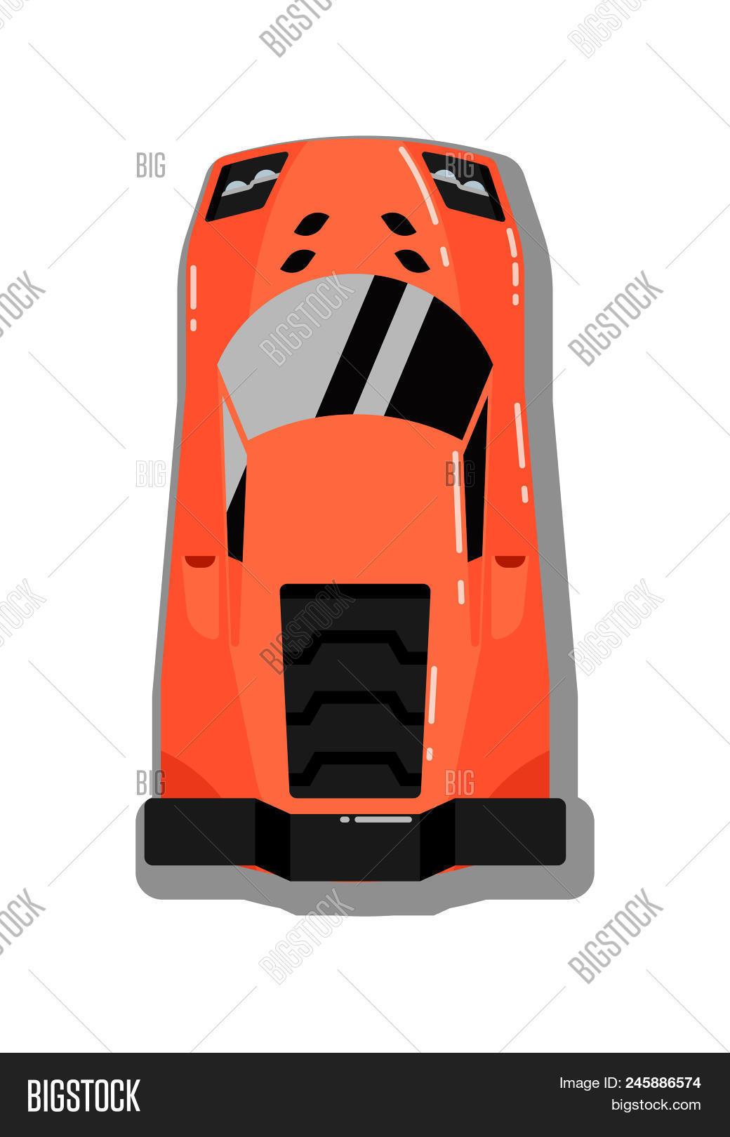 Modern Sport Car Top Image Photo Free Trial Bigstock