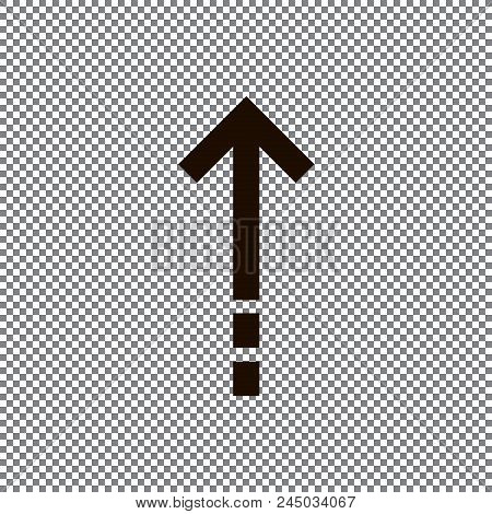 Undo Arrow Icon, Redo Arrow Icon. Direction Arrow Sign. Motion Icon. Arrow Button. Eps