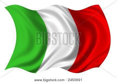 Italyan Flag Psd