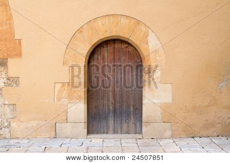 Ancient stone doorway