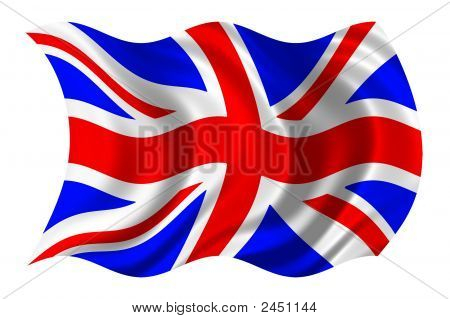 British Flag Psd