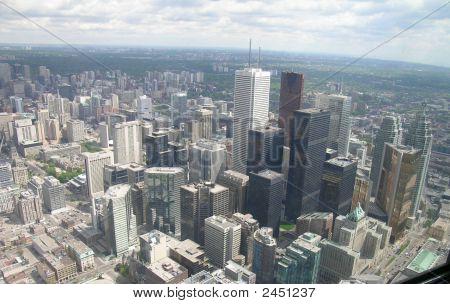 View Of Toronto City