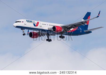 Boeing 757-231 Vp-bpb Azur Air