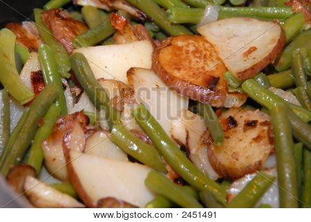 Green Beans And Potatos