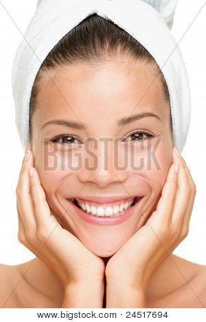 Spa Beauty Woman Smiling