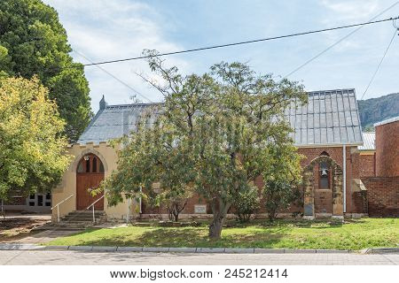 Lady Grey, South Africa - March 29, 2018: The Historic Methodist Church In Lady Grey In The Eastern