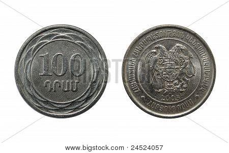 100 Dram,metal Penny