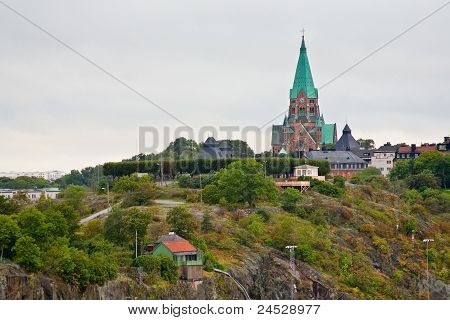 View On Sofia Church In Stockholm