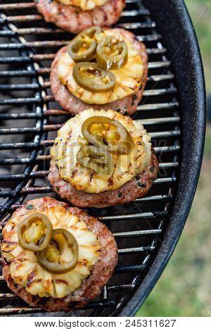grilled cutlet for burger