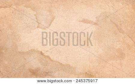 Brown Empty Old Vintage Paper Background.