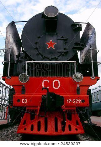 Soviet locomotive