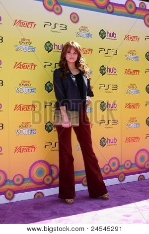 LOS ANGELES - OCT 22:  Debby Ryan arriving at the 2011 Variety Power of Youth Evemt at the Paramount Studios on October 22, 2011 in Los Angeles, CA