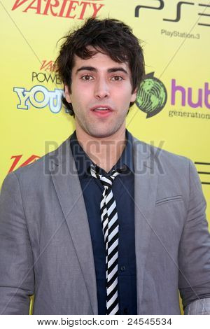 LOS ANGELES - OCT 22:  Freddie Smith arriving at the 2011 Variety Power of Youth Evemt at the Paramount Studios on October 22, 2011 in Los Angeles, CA