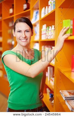 Shopping In Pharmacy
