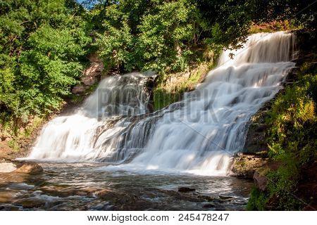 Dzhurinsky Waterfall - A Waterfall On The River Dzhurin In Zaleschitsky District Of Ternopil Region
