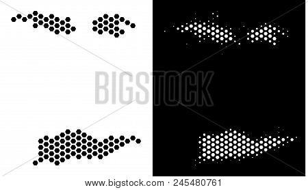 Hexagonal Usa Virgin Vector & Photo (Free Trial) | Bigstock