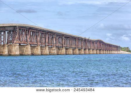 The Camelback Bridge In The Florida Keys, Also Known As The Bahia Honda Rail Bridge, Was Built As A