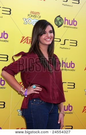 LOS ANGELES - OCT 22:  Rebecca Black arriving at the 2011 Variety Power of Youth Evemt at the Paramount Studios on October 22, 2011 in Los Angeles, CA