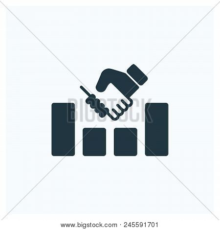 Success Icon Vector Icon On White Background. Success Icon Modern Icon For Graphic And Web Design. S