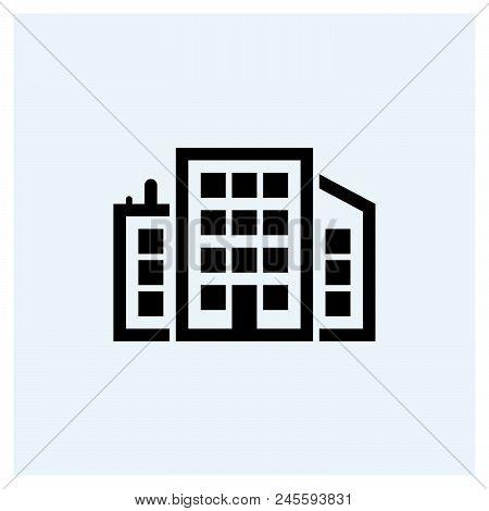 Headquarters Icon Vector Icon On White Background. Headquarters Icon Modern Icon For Graphic And Web