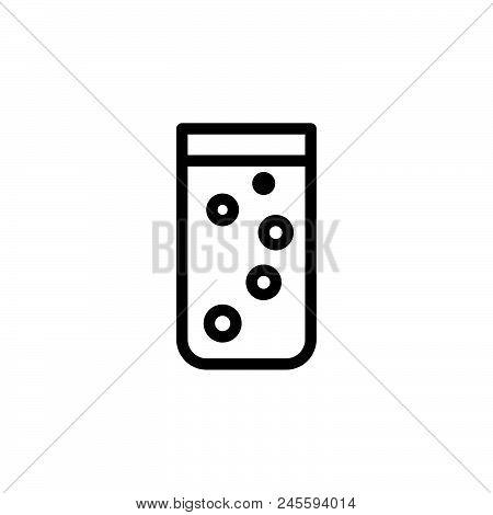 Soda Vector Icon On White Background. Soda Modern Icon For Graphic And Web Design. Soda Icon Sign Fo