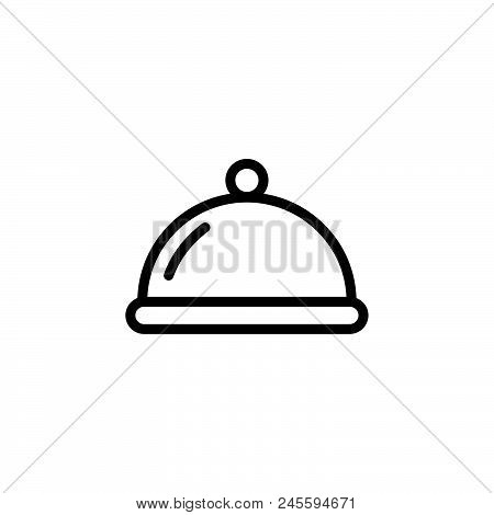 Restaurant Vector Icon On White Background. Restaurant Modern Icon For Graphic And Web Design. Resta