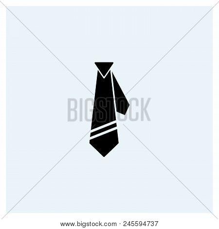 Tie Icon Vector Icon On White Background. Tie Icon Modern Icon For Graphic And Web Design. Tie Icon