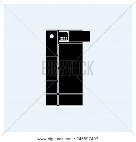 Modular Phone Icon Vector Icon On White Background. Modular Phone Icon Modern Icon For Graphic And W