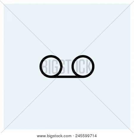 Icon Light Vector Icon On White Background. Icon Light Modern Icon For Graphic And Web Design. Icon