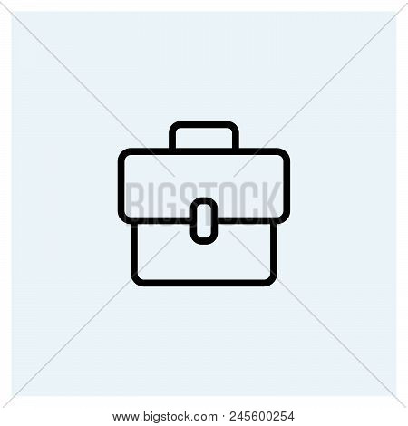 Briefcase Icon Vector Icon On White Background. Briefcase Icon Modern Icon For Graphic And Web Desig