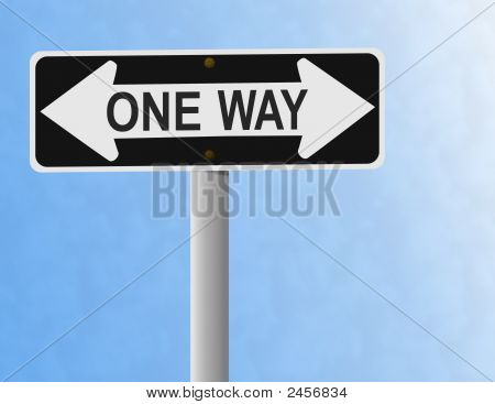Two Ways Not One Way