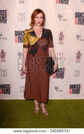 LOS ANGELES - JUN 16:  Christina Hendricks at the