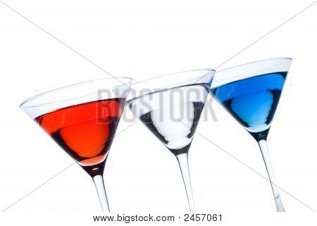 Patriotic Martinis
