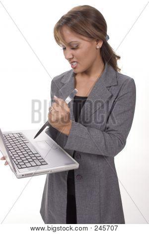 Stab That Laptop