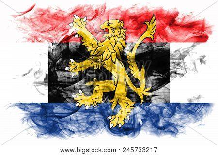 Benelux Smoke Flag,  Politico-economic Union Of  Belgium, Netherlands, Luxembourg