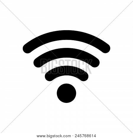Wireless Icon, Simple Vector Illustration