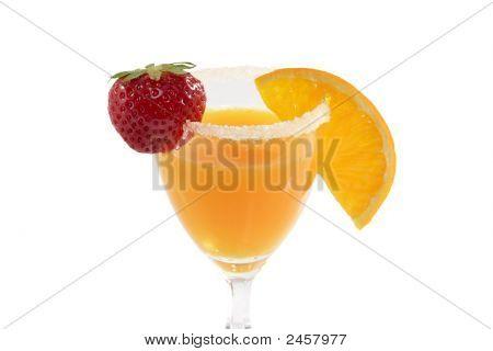 Orange-Juice With Fruits